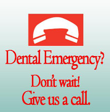 Call us for your dental emergency